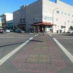 Love the street crossing on diagonal