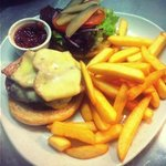 Cronins Homemade Beef Burger, made with the finest locally sourced Steak meat