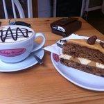 fabulous cake and coffee