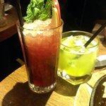 Black Raspberry Crush & Melon Margharita