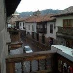 Balcon del hostal