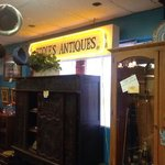 Eddie's Antiques a great place for bargains.
