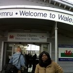 Welcome to Wales welcome to Celtic stainless bridge HolyHead