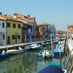 Burano, ses maisons colorées ...