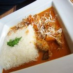 siam curry with coconut and pineapple....mmmmm
