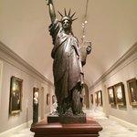 Skulptur der Freiheitsstatue