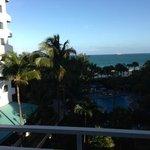 Ocean front view