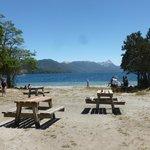 LParador del Lago Espejo, una  de las maravillas de la Ruta de los 7 lagos