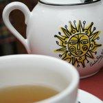 Chá no café da manhã