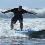 Surfing is awesome, even for full-grown adults!