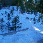 Some snow left