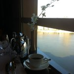 Breakfast over the Nile!