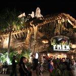 Entrada do T-Rex restaurant