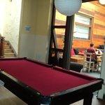 La sala de pool