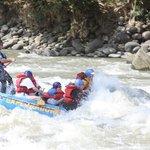 Hitting the rapids