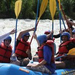 A successful rafting trip had by all