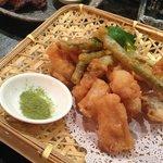 Cod and Green Bean Tempura