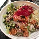 Refreshing Sashimi Salad