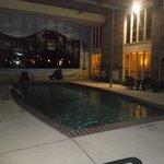 Espace piscine au 19 janvier 2014.