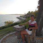 Вид на море от отеля