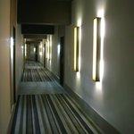 contemporary hallway decor