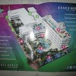 Mapa de las instalaciones