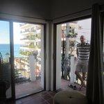 Wraparound balcony and ocean view
