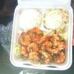 lemon pepper shrimp --  extremely fresh and well prepared