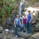 The waterfall (varies w/ rainfall).
