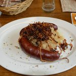 Farmer Sausages with Saurkraut