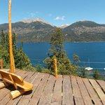 Deck al Lago Futalafquen