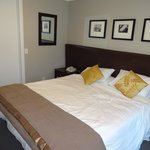 One of the bedrooms in either 2 bed luxury suite or penthouse