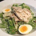 Chicken Caesar Salad w Chargrilled Chicken $13.90