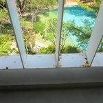Rusty balcony