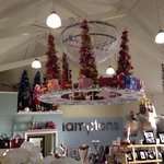 Wonderful Christmas display at the Hamptons