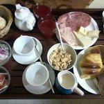 la colazione servita in camera a Vostra preferenza