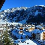Bellevue auf Lech vom Balkon