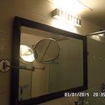 красивое большое зеркало для макияжа супер)