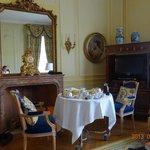 Café da manhã servido no quarto... um luxo