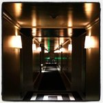 corridor - felt like twilight zone!