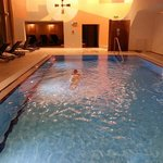 Schwimmen am abend