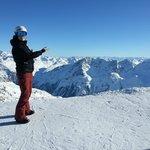 Skigebiet Hochsölden - Bergpanorama