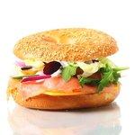 Bagelsandwich  with Selmon2