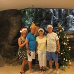 What a great placeto stay at Christmas����