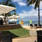 Tides beach bar at the resort
