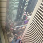 View dow to Times Square