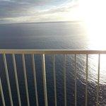 Den utsikten var inte dum att ha varje morgon och em.sol.