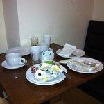 Service im Frühstücksraum