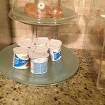 Mmmmm yogurt..  Served at about 70 degrees...