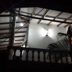 Balconies at night
